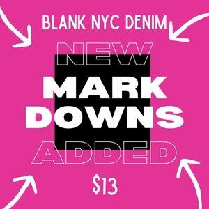 NWT BLANK NYC SALE 🛒